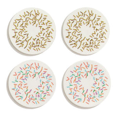Sprinkle Stickers in Chocolate and Rainbow Flavors