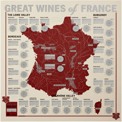 French Wine Map