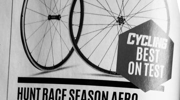 Cycling Plus Magazine Best In Test 10/10 - HUNT Race Aero Wheelset