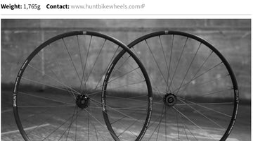 Road.cc 4.5/5 Review - HUNT 4 Season Gravel Disc X-Wide Wheelset