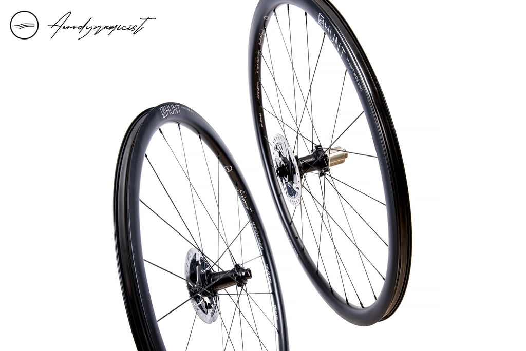 Nearly New HUNT 34 Aero Wide Disc Wheelset