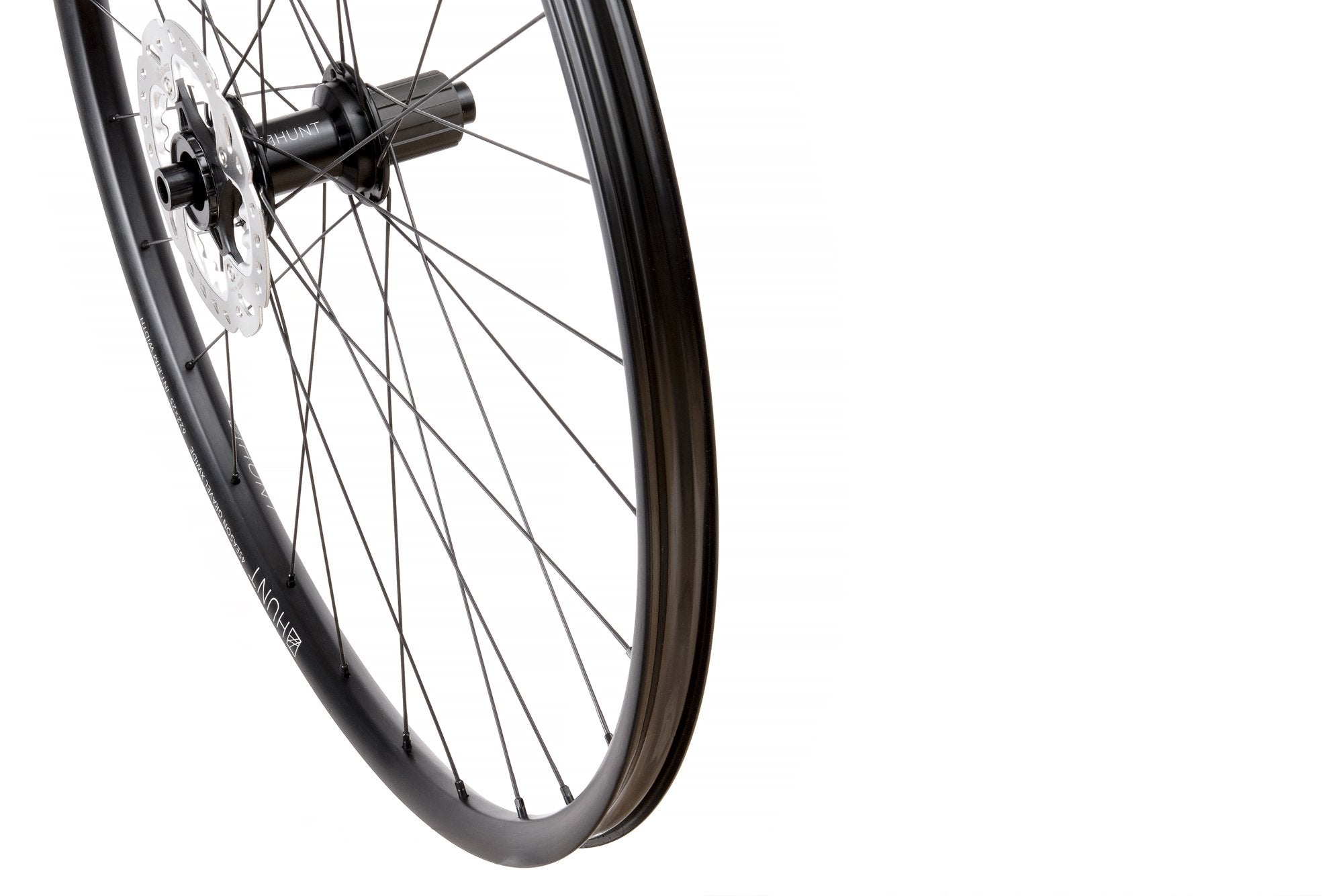 Nearly New HUNT 4 Season Gravel Disc X-Wide Wheelset