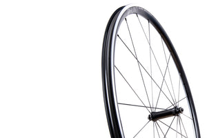 <h1>Rims</h1><i>High-performance technology that will deliver you to the finish every time. A strong and super-lightweight 6061-T6 heat-treated rim features an aero rounded profile 27mm deep and wide at 23mm (18mm internal) for a great tyre profile with wider 25-32mm tyres, giving excellent grip and lower rolling resistance.</i>