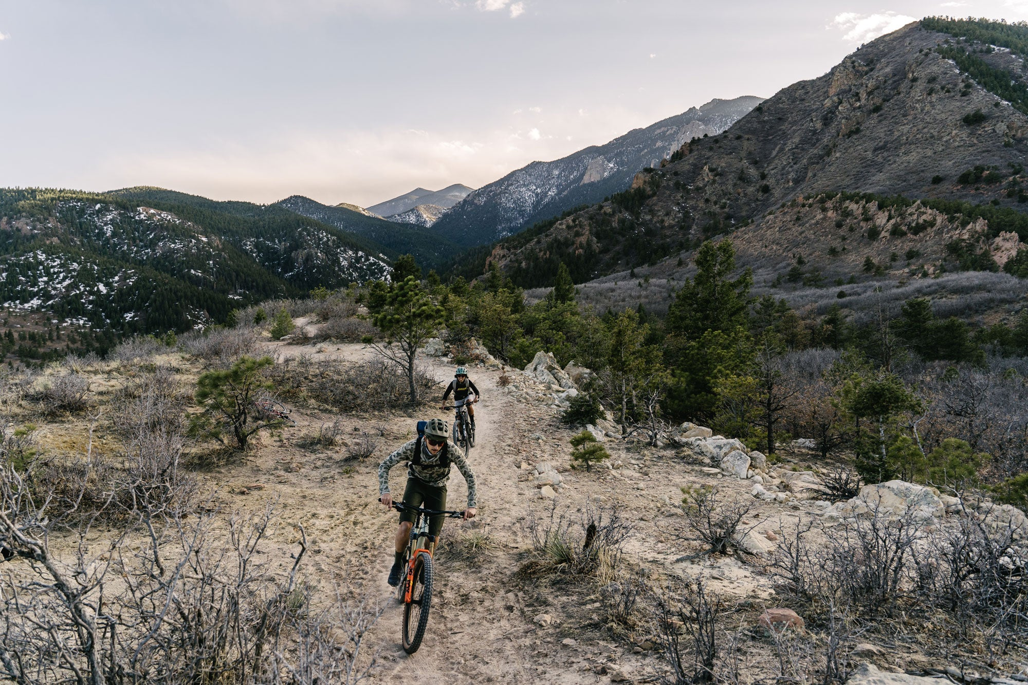 <h1>Made for where you ride</h1><i>From the local trails, to a remote piece of trail highup in a remote mountain range; we wanted to create a series of wheelsets tailored for your Trail riding.</i>