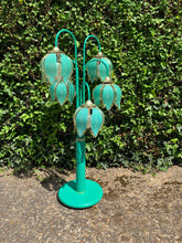 Load image into Gallery viewer, Vintage 1960s Green Floor Lamp