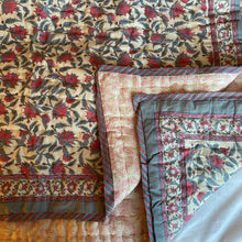 Load image into Gallery viewer, Hand Block Printed Indian Bedspreads
