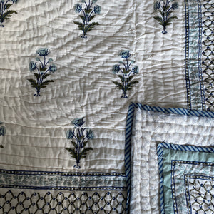Hand Block Printed Indian Bedspreads
