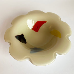 Vintage 1960s Murano Glass Bowl