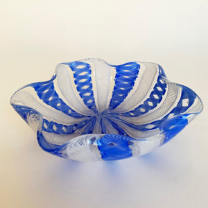 Trio of Miniature Murano Trinket Dishes