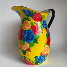 Load image into Gallery viewer, Hand Painted Enamelled Jugs