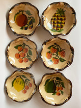 Load image into Gallery viewer, Vintage Hand Painted Italian Fruit Plates