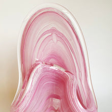 Load image into Gallery viewer, Pink Vintage Handblown Decorative Vase