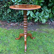 Load image into Gallery viewer, Vintage Bobbin Neck Occasional Table