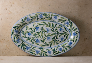 Hand Painted Large Portuguese Serving Platter