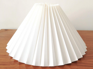 Danish Pleated Lampshades