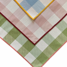 Load image into Gallery viewer, Vichy Napkins Set of Four