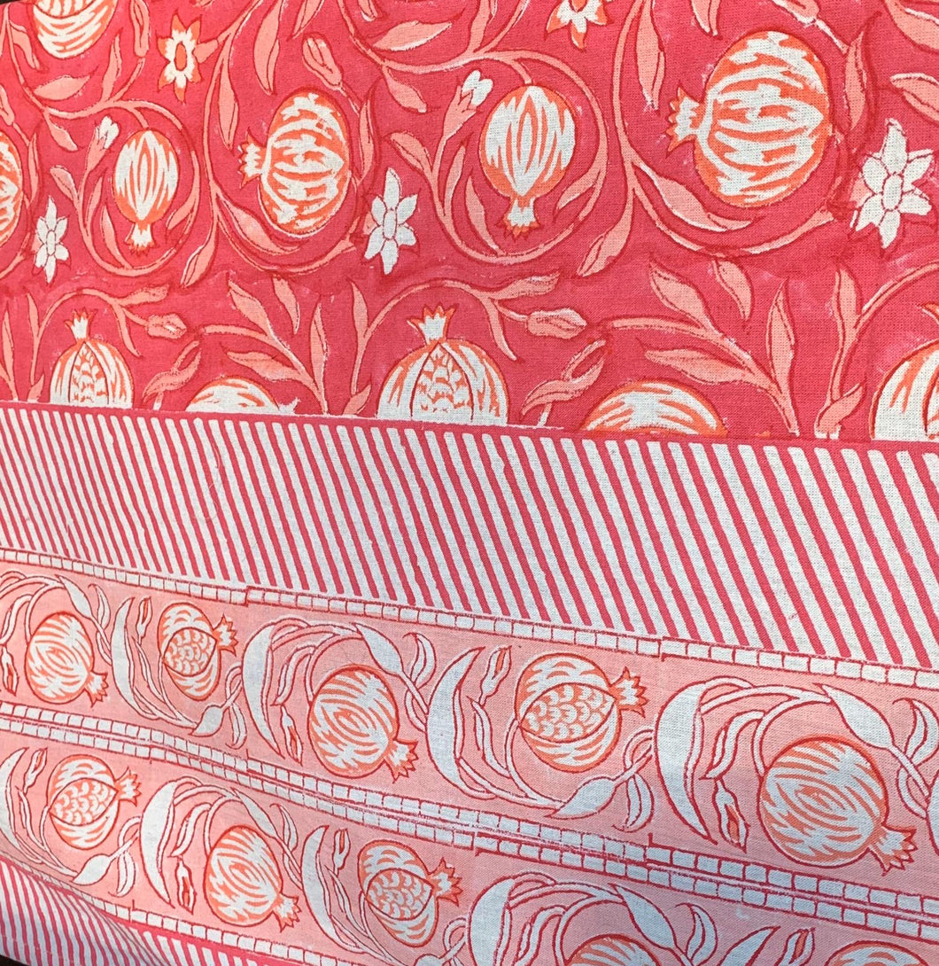 Pomegranate Tablecloth and Napkins