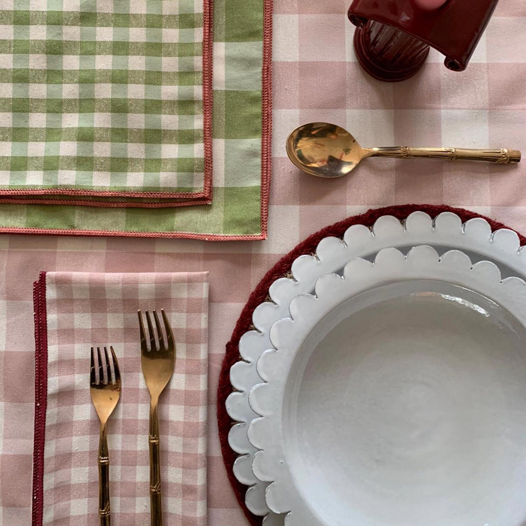 Vichy Napkins Set of Four