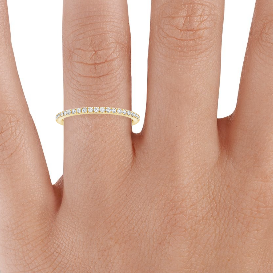 14k Gold Plated Eternity Band