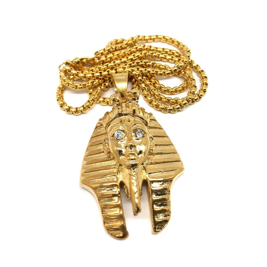 24in 3mm Rolo Chain With Pharaoh Pendant M STL_005 - WORLDSTARBLING