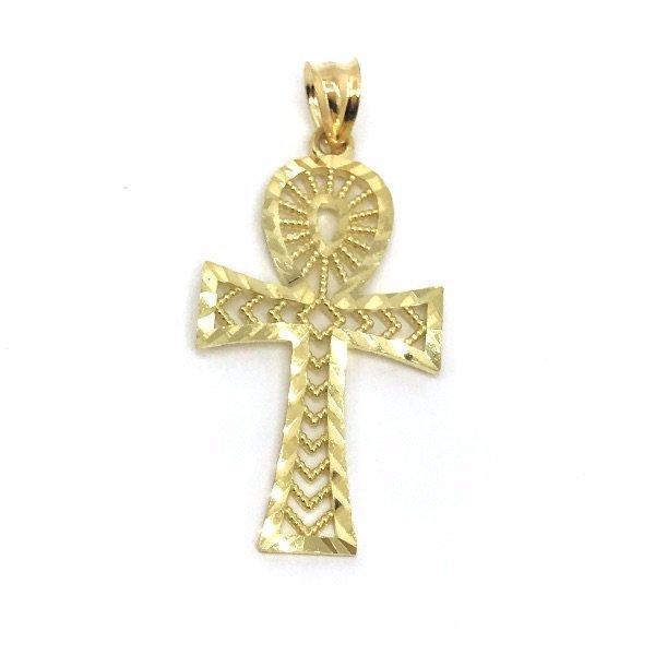 Ankh Cross Pendant GAP_002 - WORLDSTARBLING