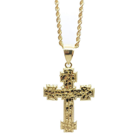 Rope chain 2.5MM With Cross NSA-010 - WORLDSTARBLING
