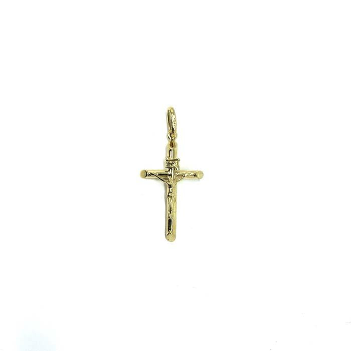 10K Yellow Gold Cross Pendant XS GCP-049 - WORLDSTARBLING