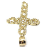 10K Yellow Gold Cross Pendant GCP_005 - WORLDSTARBLING