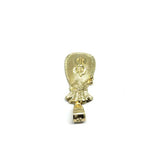10K Yellow Gold Money Bag Men's Pendant GMP-007 - WORLDSTARBLING