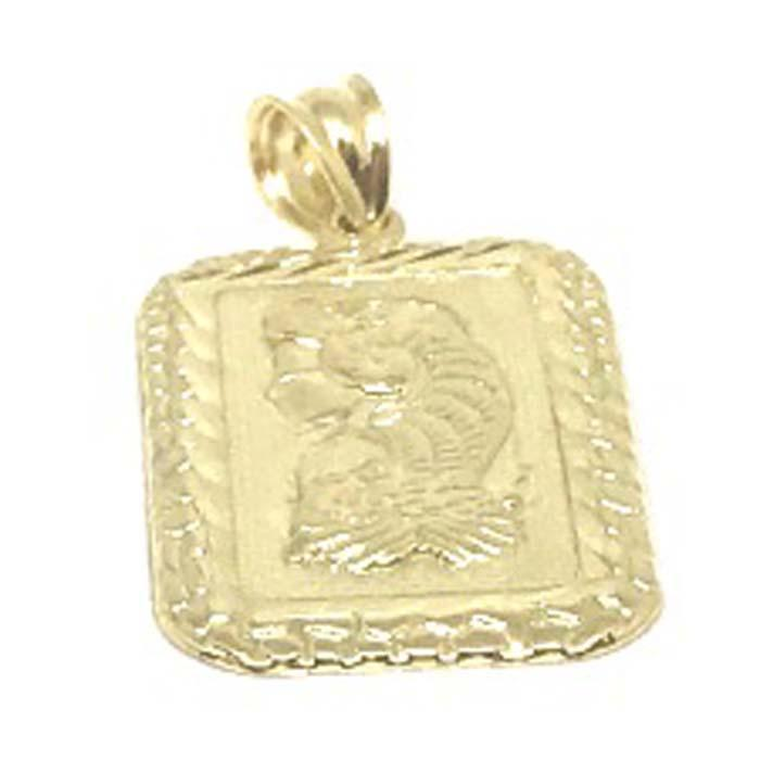 10K Yellow Gold Lady Fortune LFG_003 - WORLDSTARBLING