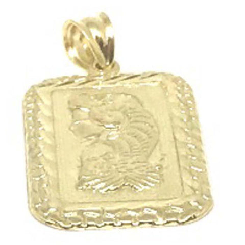 10K Yellow Gold Lady Fortune LFG_004 - WORLDSTARBLING
