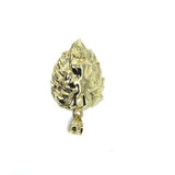 10K Yellow Gold Lion Gold Diamond Cut Pendant L LGP-012 - WORLDSTARBLING