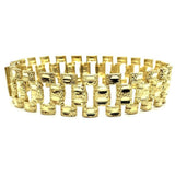 10K 16MM Rolly Bracelet MB-005 - WORLDSTARBLING