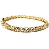 10K Yellow Gold 5.6M Tennis Bracelet Z CZ WBG-018 - WORLDSTARBLING
