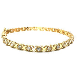 10K Yellow Gold 4.8MM Tennis Bracelet X WBG-025 - WORLDSTARBLING