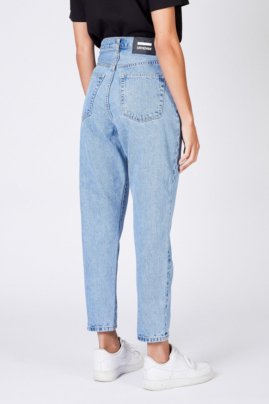 Dr Denim Nora mom jeans light retro wash