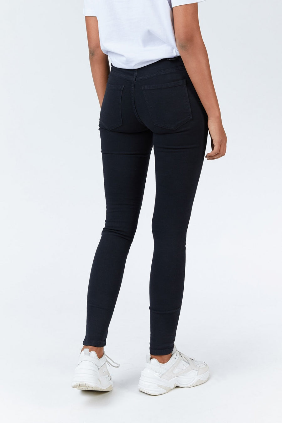 Dr Denim Lexy skinny black jeans