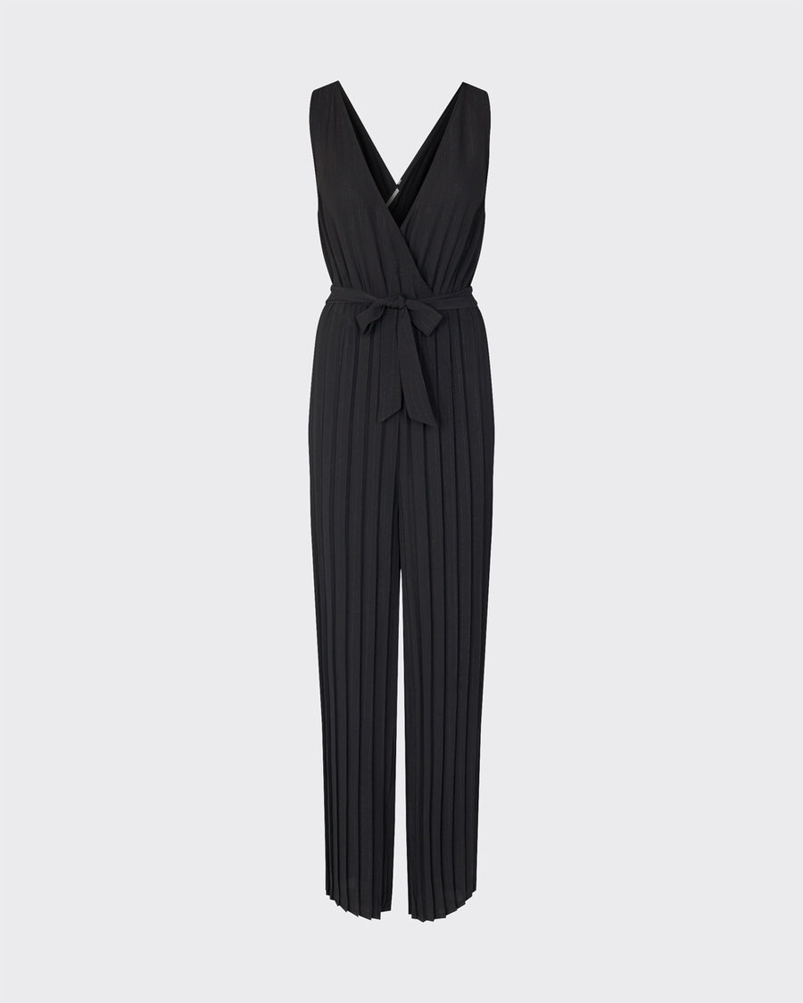 Minimum Genivieve black jumpsuit