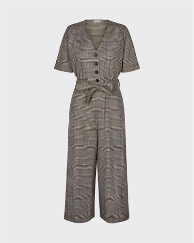 Minimum Alberta tweed jumpsuit