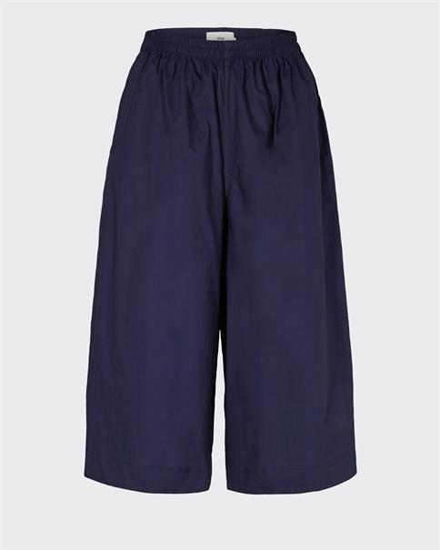 Minimum Magnea shorts cropped trousers navy