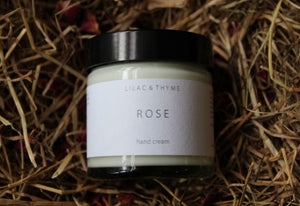 Lilac & Thyme Rose hand cream