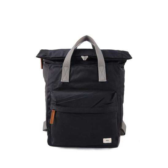 Roka London Canfield B medium black rucksack bag
