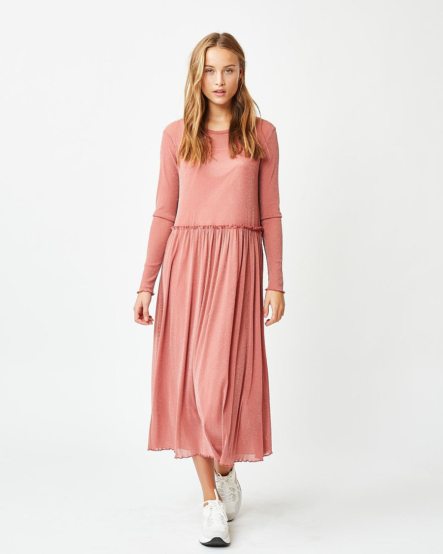 Moves liselou faded rose maxi dress
