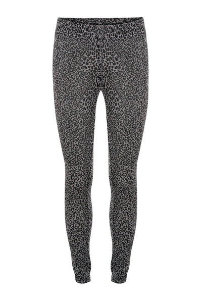 Sofie Schnoor leggings tights silver leopard print