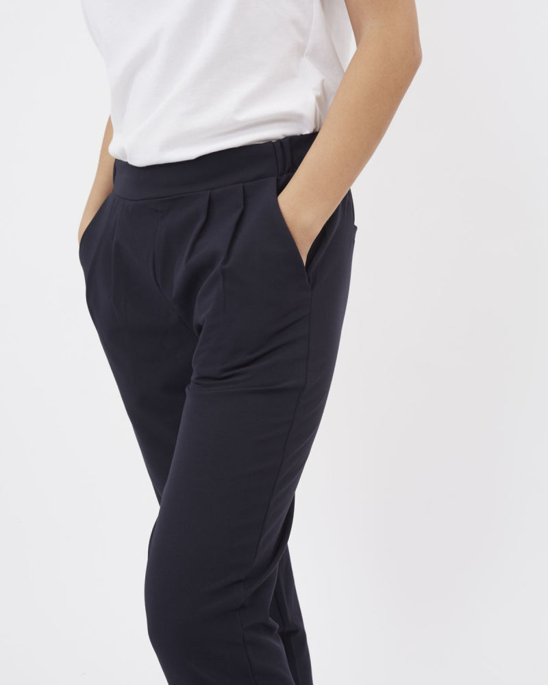 Minimum sofja black smart casual trousers