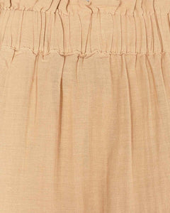Minimum natural midi skirt
