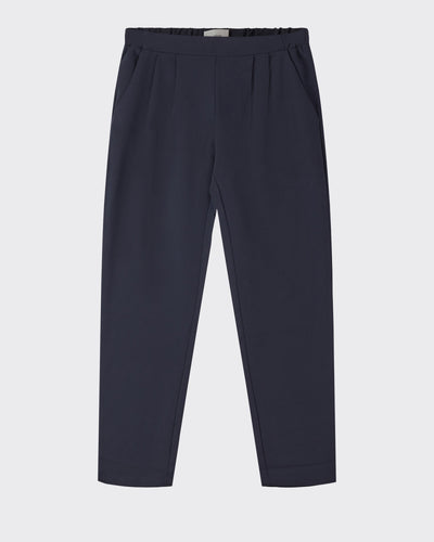 Minimum Sofja navy smart casual trousers