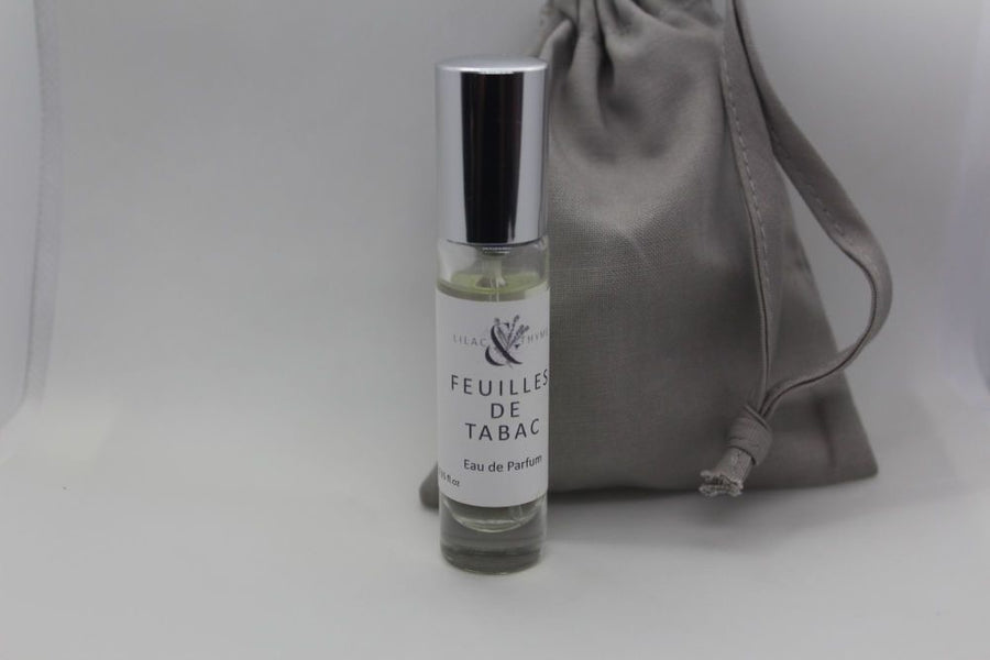 Lilac and Thyme Feuilles de Tabac