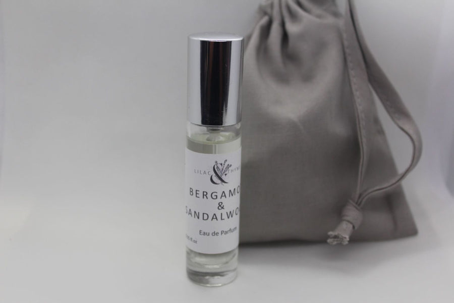 Lilac and Thyme Bergamot and Sandalwood fragrance perfume 10ml
