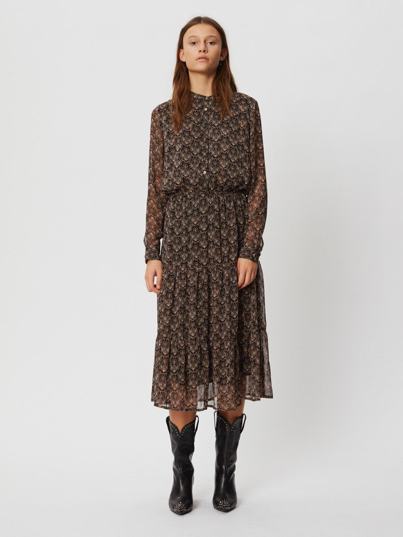 Sofie Schnoor Abbi dress brown print